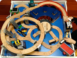Imaginarium Mountain Rock Train Table The Play Trains Guide To The Best Wooden Train Sets 2017