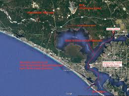 Map Florida Panhandle by Surveys U0026 Maps U2013 Florida Panhandle Waterfront Compound