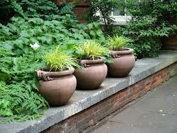 large garden planters and pots home outdoor decoration