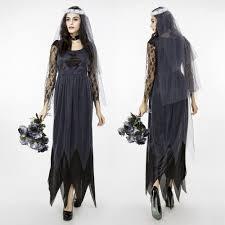 online get cheap gothic halloween wedding dresses aliexpress com