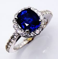 natural sapphire rings images Natural sapphire ring gia certified 14kt white gold 2 63 ct jpg