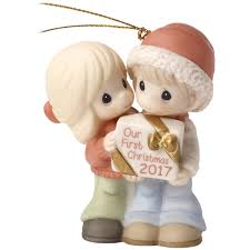 precious moments our first christmas together 2017 ornament