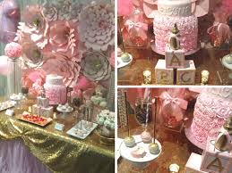 gold and pink baby shower pretty pink and gold baby shower baby shower ideas themes