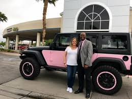 pink jeep rubicon pink and black jeep wrangler finds a fitting home las vegas review