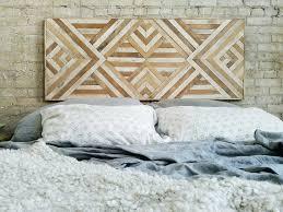 headboard wall art reclaimed wood wall art queen headboard wood wall decor geometric