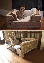 Homemade Dog Beds Diy Dog Bed Using Wooden Pallets