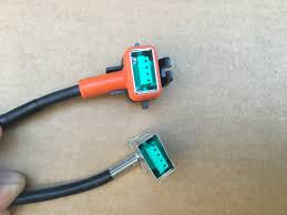 factory oem xenon ballast to d3s light bulb wire wiring cable