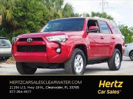 Cars For Sale In New Port Richey Fl Used Toyota 4runner For Sale In New Port Richey Fl Edmunds