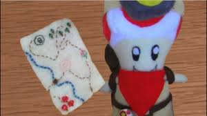 make your own plush make your own captain toad plush
