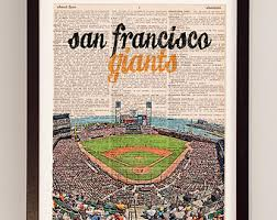 san francisco giants etsy