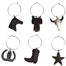 rep 6 western wine charms 194 sports outdoors