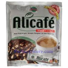 Kopi Tongkat Ali Ginseng Coffee alicafe ginseng coffee no sugar