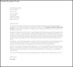 cover letter kindergarten teacher sample