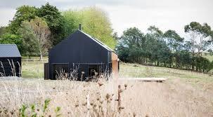Modern Barn Modern Barn Form Innovative Black Barn By Red Architecture