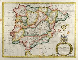 Portugal Spain Map by A New Map Of Present Spain U0026 Portugal Wells Spain Portugal 1738