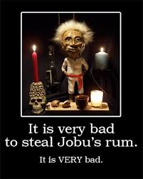 Major League Movie Meme - it is very bad to steal jobu s rum imgur