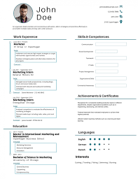 Best Resume Samples For Software Engineers by 50 Most Professional Editable Resume Templates For Jobseekers