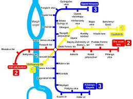 the metro map budapest metro lines map schedule and price of the metro
