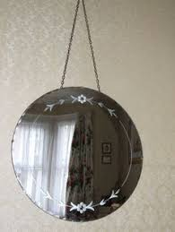 old white vintage shabby chic mirror my home pinterest