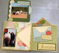 Couverture Album Photo Scrapbooking Mini Album