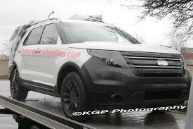 Ford Explorer Models - spy shots 2012 ford explorer photo gallery autoblog