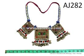wholesale afghan kuchi necklace chokers saneens tribal handmade