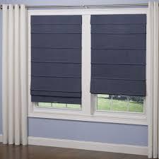 homebasics natural linen look thermal blackout fabric roman shade