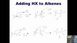 chapter 4 u2013 the reactions of alkenes part 1 of 4 youtube