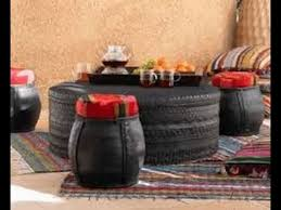 How To Use Old Tires For Decorating Home Decoration By Useless Car Tyres Furniture Ideas Youtube