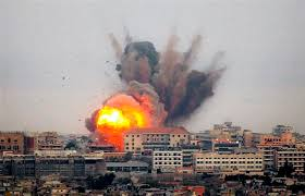Israel strikes back at Gaza