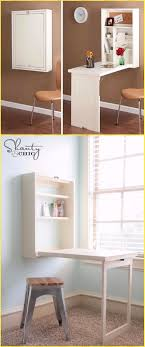 Diy Wall Desk Diy Wall Mounted Desk Free Plans