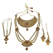 bridal set necklace earring images Much more traditional indian style gorgeous polki jpg