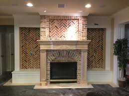 old chicago brick w custom mantle house ideas pinterest