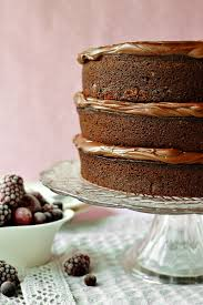 chocolate fudge cake archives domestic gothess