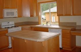 ceramic tile ideas for kitchens bring the atmosphere with tile countertop ideas the