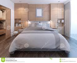 Schlafzimmer Wanddekoration Elegantes Schlafzimmer Mit Wanddekoration Stock Abbildung Bild