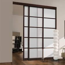 Sliding Closet Door Ideas by Triple Sliding Closet Doors Roselawnlutheran