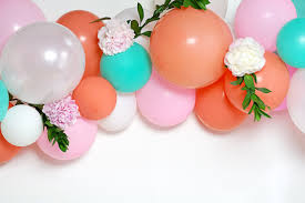how to make a balloon arch how to make a diy balloon arch with fresh flowers