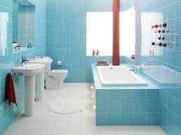 light blue bathroom ideas remodel idea for small bathroom design with light blue wall tiles
