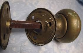 Brass Door Knobs Vintage Glass Door Knobs