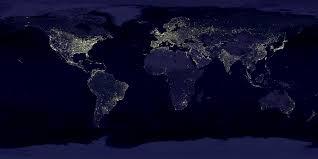 map of eart nasa visible earth earth s city lights