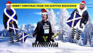 merry christmas scottish resistance