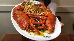 cr駑aill鑽e cuisine 整尾龍蝦加入麵條希臘佳餚美味上桌