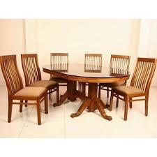 Teak Wood Dining Tables Teak Wood Dining Table Set At Rs 60000 Set Sagvan Ki Dining