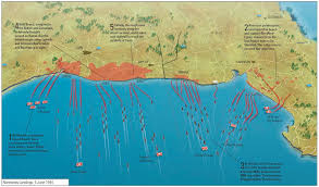 Normandy Invasion Map The History Reader A History Blog From St Martins Press