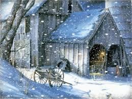 snow at arabası yağış snow falling winter