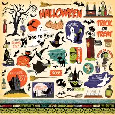 halloween striped background paper echo park paper