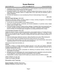 resume summary statement consultant cover letter example resume it it support resume sample it