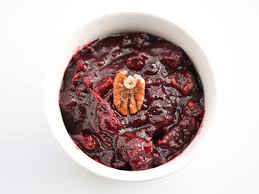 cranberry sauce with candied pecans recipe serious eats