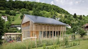 solar powered casa c is an affordable prefab home for a family of